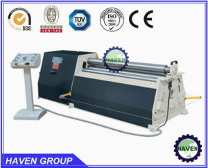 W11H-40X3000 high quanlity Bottom rollers Arc-Adjust plate bending rolling machine pictures & photos