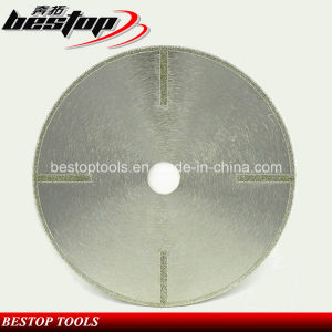 Electroplating Circcular Saw Blade for Onyx and Gemstone pictures & photos