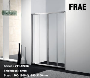 6mm Thickness with Full Frame for Bathroom Shower Screen Steam Shower Room pictures & photos