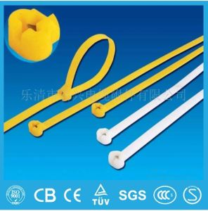 Self Locking Nylon Cable Tie Factory Sell Nylon 66 Cable Tie in China pictures & photos