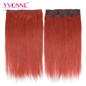 Brazilian Remy Clip in Hair Extension pictures & photos