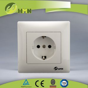TUV Ce CB Certified European Standard Schuko Wall Socket pictures & photos