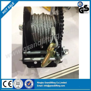 Hand Winch Wire Rope Manual Industrial Winch pictures & photos