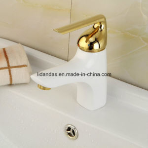 Artistic Brass Basin Mixer pictures & photos