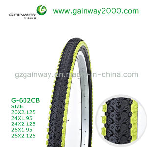 2016 New Design China Manufacture Five Color Mountain Bicycle Tyre