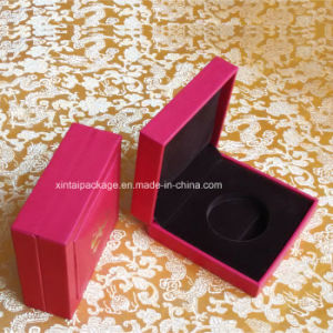 Plastic Gold Coin Box with PU pictures & photos