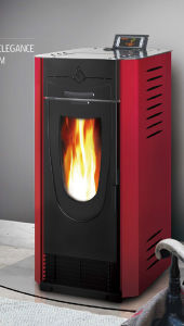 Air Heater Cheap Price Pellet Stove Fireplace (CR-04) pictures & photos