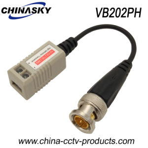 1CH CCTV Passive Coax Balun for HD-Cvi/Tvi/Ahd Camera (VB202pH) pictures & photos