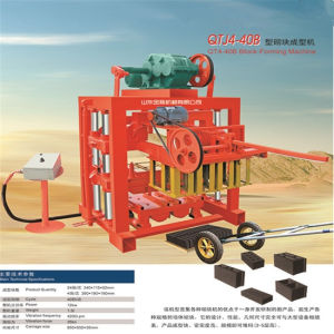 High-Intensity Hollow Brick Machine with Thick Square Steel Frame pictures & photos