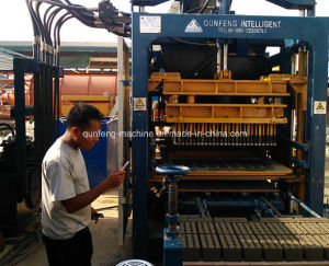 Qft8-15 Manual Concrete Block Machine pictures & photos
