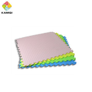High Quality Colorful Kamiqi EVA Foam Floor Mats--Leaf Texture pictures & photos