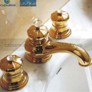 Chrome 3 Way Bathtub Faucet Mixer pictures & photos