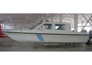 Aqualand 12persons Fiberglass Patrol Boat/House Cabin Water Taxi/Passenger Carrier (760) pictures & photos