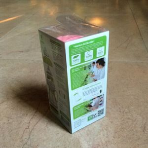 Plastic Pet Clear Feeding Bottle Double Printing Folding Safe Packaging Box pictures & photos
