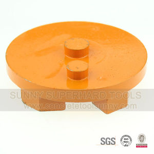 3 Inch Arrow Seg 2 Pin Metal Bond Diamond Grinding Disc pictures & photos