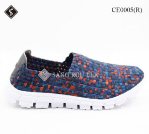 Breathable Casual Sport Shoes for Women & Weave Shoes pictures & photos