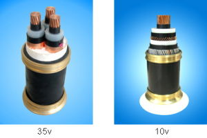 3-Core Copper (Aluminum) XLPE Insulated PVC Sheathed Power Cable