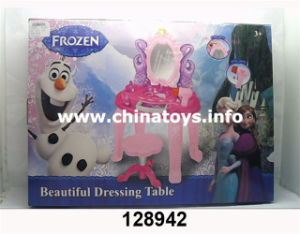 Girl′s Beautiful Dress Table Toy with Music and Light (128942) pictures & photos