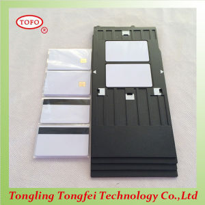 High Quality Newest Contact Chip White Inkjet Card pictures & photos