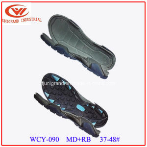 Abrasion Resistance Summer Andals Outsole EVA and Rb/TPR Material Sole for Shoes Making pictures & photos