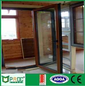 2015 Shanghai Pnoc Aluminum Casement Door pictures & photos