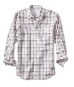 Tailored Slim-Fit Bold Plaid Linen Cotton Shirt for Men pictures & photos