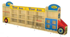 Children Furniture Wholesale Kid′s Bookshelf Toy Cabinet for Sale pictures & photos