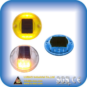 Solar Plastic Road Stud with Rechargeable Battery