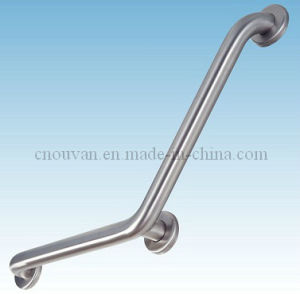 Bathroom Annular Knurled Grab Bar with PVD Plated pictures & photos