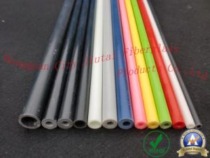 Anti-Flame and Good Toughness Fiber Glass Pole pictures & photos