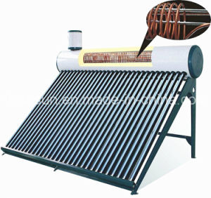 Copper Built in Preheated Solar Water Heater pictures & photos