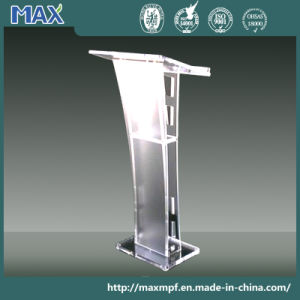 Curved Acrylic Perspex Lectern Podium pictures & photos