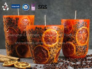 Factory Price Selling Lomon Poured Candle pictures & photos