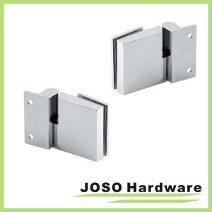 Chrome Glass to Wall Frosted Glass Door Overlay Hinge (BH1203) pictures & photos