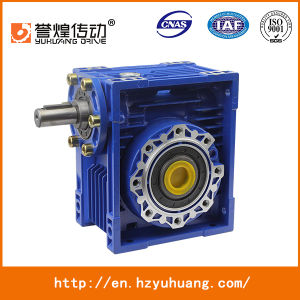 Right Angle Gearbox Nmrv 090 Worm Gear Box Reduction Gearbox pictures & photos
