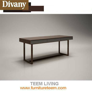 White Solid Wood Readroom Furniture Study Table pictures & photos