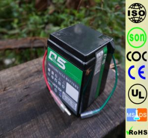 6YT4(6N4) 6V4AH High Starting Performance AGM Sealed maintenance free lead acid motorcycle battery pictures & photos