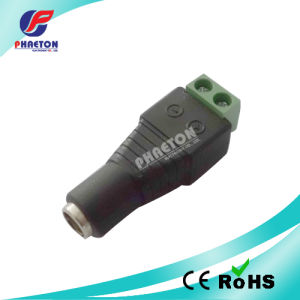5.5mm X 2.1mm Female CCTV Camera LED DC Power Connector pictures & photos