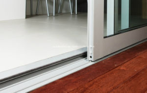 Plain Track Balcony Sliding Doors for Residential Patio pictures & photos