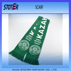Custom Design Football Club Knitted Scarf