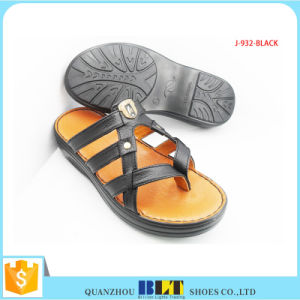 New Arrival Big Buckle Arab Slipper for Men pictures & photos