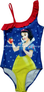 Allover Cartoon Print Girl Swimwear pictures & photos