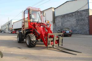 Zl910 Mini Front End Loader for Sale Hot Sale in Europe pictures & photos