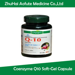 Natural Vitamin E Coenzyme Q10 Soft-Gel Capsule pictures & photos