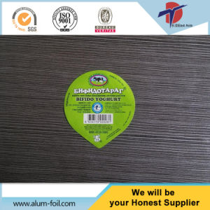Double Sides Embossed Aluminum Foil Lid for Dairy pictures & photos