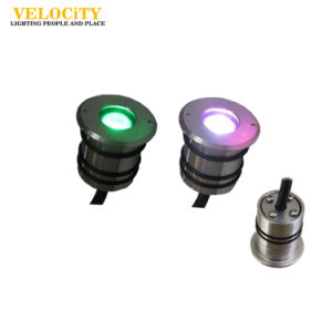 DC24V 316 Stainless Steel Surface Mounted IP68 RGB LED Swimming Pool Light pictures & photos