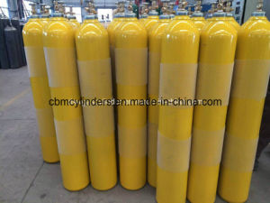 High Pressure 50L (10 M3) Steel Oxygen Cylinders with W. P. 200bar pictures & photos