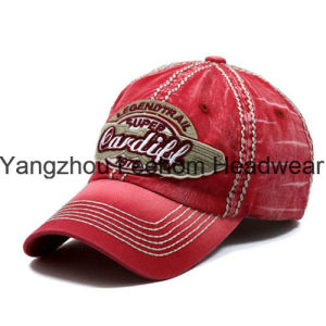 Custom Washed-out Cotton Golf Leisure Baseball Cap pictures & photos