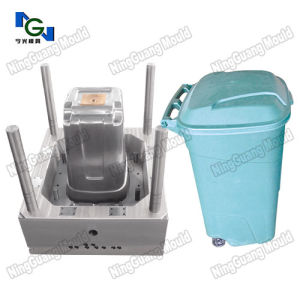 Plastic Injection Public Garbage Bin/Can Mould pictures & photos