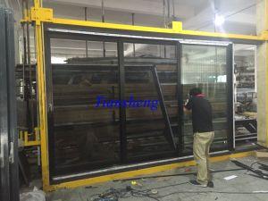 Double Glazed Aluminium Stacker Door Aluminium Stacking Door/Entrace Door pictures & photos
